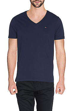HILFIGER DENIM - Tee-shirt47HD1TS200Bleu gris