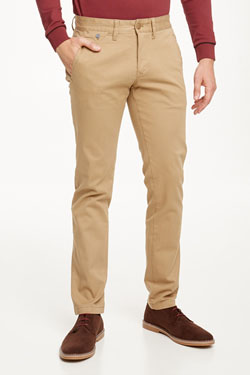Pantalon HILFIGER DENIM SL FERRY Beige