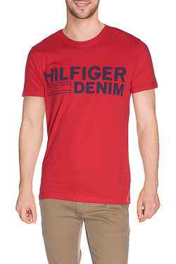 HILFIGER DENIM - Tee-shirtBASIC HILFI1Rouge