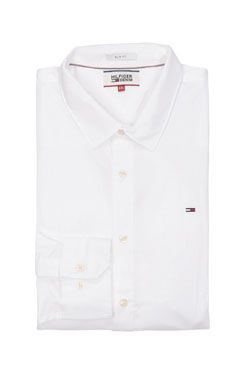 HILFIGER DENIM - Chemise manches longuesORIGNAL STRETCH SHIRTBlanc
