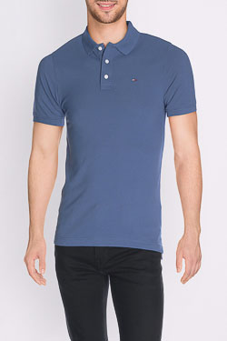 Polo HILFIGER DENIM THDM BASIC POLO 1 Bleu
