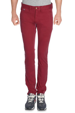 HILFIGER DENIM - PantalonSLIM CHINO FERRY 1Rouge