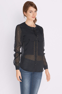 I CODE BY IKKS - Chemise manches longuesQJ12084Noir