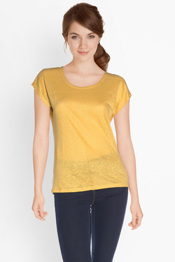 Tee-shirt I CODE BY IKKS QJ10024 Jaune