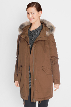 Parka I CODE BY IKKS QK42004 Marron
