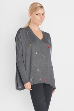 Pull I CODE BY IKKS QK18224 Gris