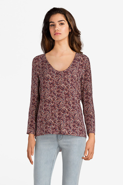 Blouse I CODE BY IKKS QK11094 Rouge bordeaux