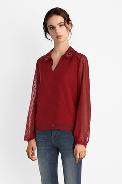 Blouse I CODE BY IKKS QM11124 Rouge