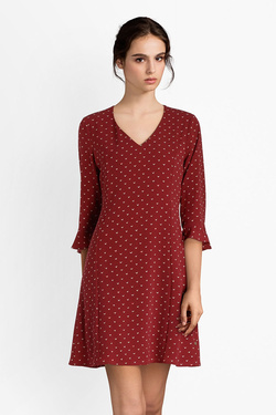 Robe I CODE BY IKKS QM30214 Rouge