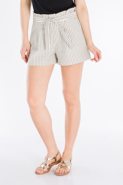 Short I CODE BY IKKS QN26044 Ecru