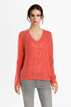 Pull I CODE BY IKKS QP18204 Brique