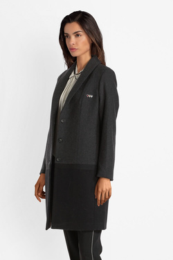 Manteau I CODE BY IKKS QP44014 Gris