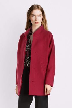 Manteau I CODE BY IKKS QP44044 Rouge grenat