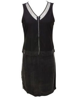 I CODE BY IKKS Robe tres confortable noir QF31034