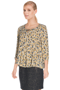 Blouse I CODE BY IKKS QI11024 Jaune moutarde