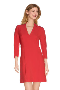 I CODE BY IKKS Robe rouge rouge QI30264