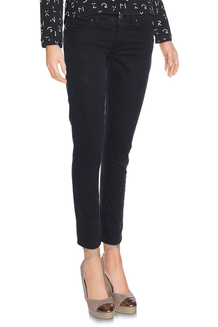 PANTALON SLIM EN TOILE EXTENSIBLE I CODE BY IKKS