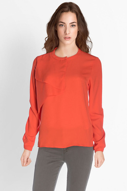 Blouse ICHI 20103108 Rouge vermillon