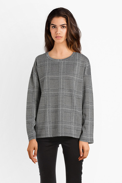 Pull ICHI 20107668 KATE SWEAT LS Gris