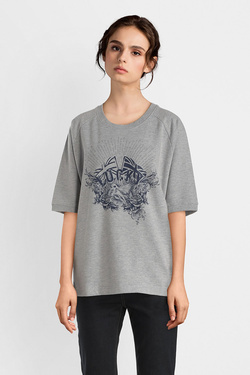 Sweat-shirt IKKS BM15005 Gris