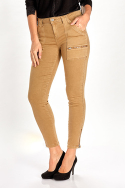 Pantalon IKKS BM29335 Marron