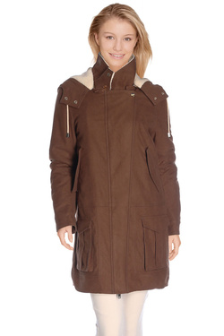 Manteau IKKS BI42095 Marron