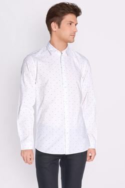 JACK AND JONES - Chemise manches longues12119599Blanc