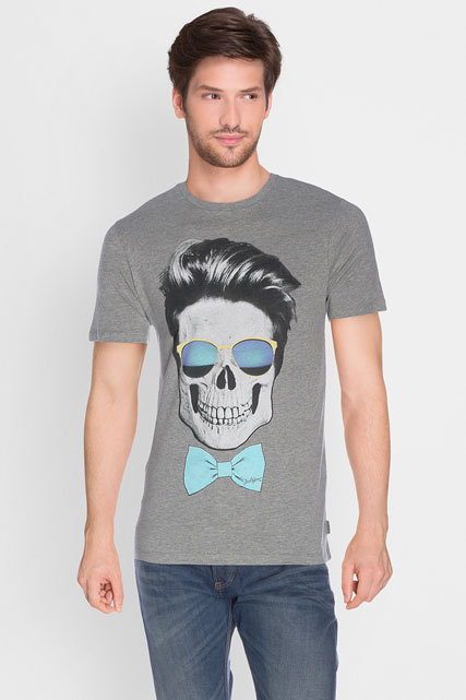 jack and jones tee shirt 12118770 gris clair homme des marques et vous. Black Bedroom Furniture Sets. Home Design Ideas