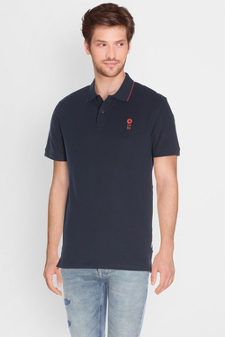 Polo JACK AND JONES 12119176 Bleu marine