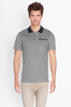 JACK AND JONES - Polo12119072Gris clair