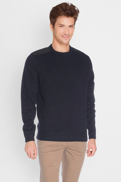 JACK AND JONES - Pull12117167Bleu foncé
