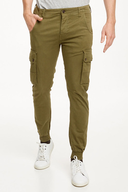 Pantalon JACK AND JONES 12114752 Vert kaki