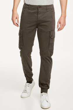 Pantalon JACK AND JONES 12114753 Gris vert