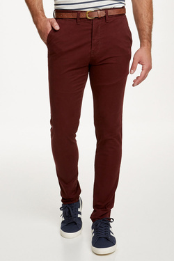 Pantalon JACK AND JONES 12125527 Rouge bordeaux