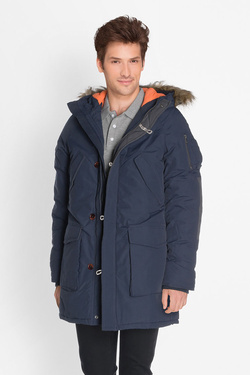 Parka JACK AND JONES 12123692 Bleu