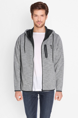 Sweat-shirt JACK AND JONES 12124866 Gris