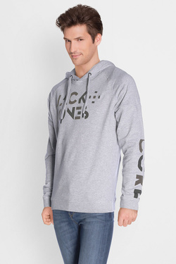 Sweat-shirt JACK AND JONES 12124817 Gris