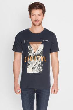 Tee-shirt JACK AND JONES 12126618 Bleu