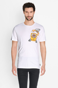Tee-shirt JACK AND JONES 12126612 Blanc