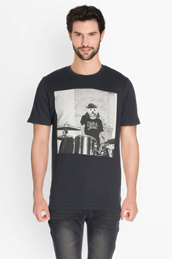Tee-shirt JACK AND JONES 12124313 Noir