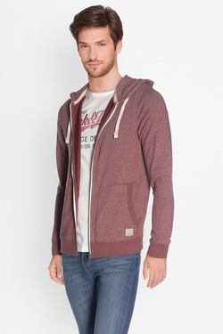 Sweat-shirt JACK AND JONES 12127820 Rouge bordeaux