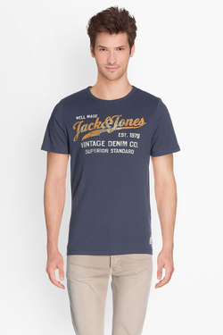 Tee-shirt JACK AND JONES 12129057 Bleu