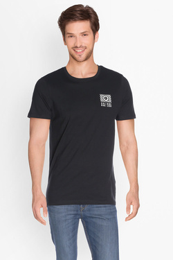 Tee-shirt JACK AND JONES 12126404 Noir