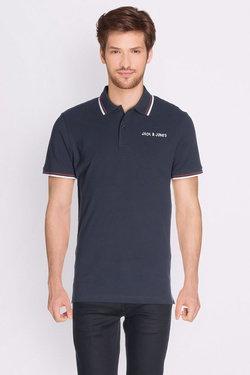 Polo JACK AND JONES 12126314 Bleu