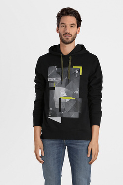 Sweat-shirt JACK AND JONES 12132362 Noir