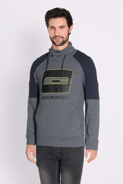 Sweat-shirt JACK AND JONES 12132367 Bleu marine