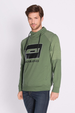 Sweat-shirt JACK AND JONES 12132367 Vert