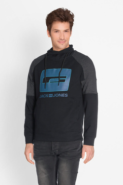 Sweat-shirt JACK AND JONES 12132367 Noir