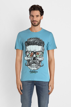 Tee-shirt JACK AND JONES 12132527 Bleu