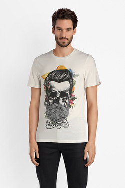 Tee-shirt JACK AND JONES 12132527 Blanc